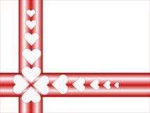 Cuori rossi royalty illustrazione gratis