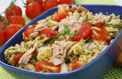 Cuoscous mit Thunfisch Stockfotos