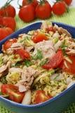 Cuoscous mit Thunfisch Lizenzfreie Stockfotos