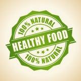 Cupão de alimentação saudável ilustração do vetor
