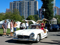 Cupé 1955 do Benz 300SL Gullwing de Mercedes Imagem de Stock