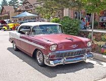 Cupé 1956 de Chevrolet Fotografía de archivo