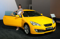 Cupé da génese de Hyundai Fotografia de Stock Royalty Free