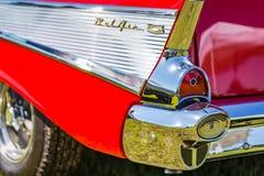 Cupé 1957 de Chevrolet BelAir Fotos de archivo libres de regalías