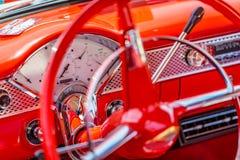 Cupé 1955 de Chevrolet BelAir Fotografía de archivo