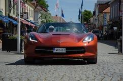 Cupé 2015 de Chevrolet Corvette Foto de archivo libre de regalías