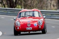 Cupé 1959 de Fiat Abarth 750 GT Zagato Imagenes de archivo