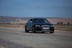 Cupé negro de Audi RS5 foto de archivo libre de regalías