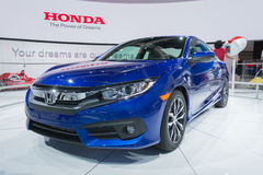 Cupê 2016 de Honda Civic Imagem de Stock