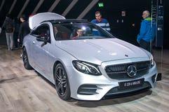 Cupê de Mercedes-Benz E 220 d 4matic Fotos de Stock Royalty Free