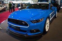 Cupê do Fastback de Ford Mustang GT AM2 do carro de pônei, 2016 Imagens de Stock Royalty Free
