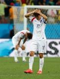 Cupê du monde 2014 de Chung-Yong do Lee Imagens de Stock
