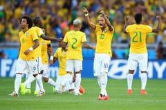 Cupê du monde 2014 de Equipe Bresil Foto de Stock