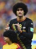 Cupê du monde 2014 de Marouane Fellaini Fotos de Stock Royalty Free