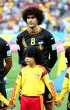 Cupê du monde 2014 de Marouane Fellaini Fotografia de Stock