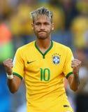 Cupê du monde 2014 do júnior de Neymar Fotografia de Stock