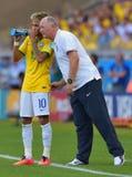 Cupê du monde 2014 do júnior de Neymar Fotos de Stock