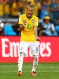 Cupê du monde 2014 do júnior de Neymar Fotografia de Stock Royalty Free