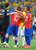 Cupê du monde 2014 do júnior de Neymar Foto de Stock
