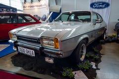 cupê Ford Capri Mk do Meados de-tamanho II 3 0 litros Ghia, 1977 Imagem de Stock