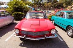 Cupê 1964 vermelho de Rivolta GT do clássico Foto de Stock Royalty Free