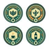 Cupões de alimentação ajustados Imagem de Stock Royalty Free