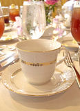 Cup. Wedding table royalty free stock photos