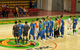 Cup 2008-2009 UEFA-Futsal Stockfotografie