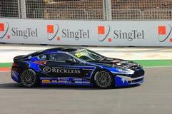 Cup 2008 Aston-Martin Asien in Singapur großartiges Prix Stockfoto