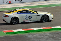 Cup 2008 Aston-Martin Asien in Singapur großartiges Prix Stockfotos
