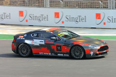 Cup 2008 Aston-Martin Asien in Singapur großartiges Prix Lizenzfreies Stockbild