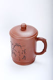Cup. Chinese traditional Yixing Zi Sha Cup Stock Photography