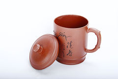 Cup. Chinese traditional Yixing Zi Sha Cup Royalty Free Stock Photos
