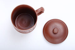 Cup. Chinese traditional Yixing Zi Sha Cup Royalty Free Stock Photography