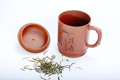 Cup. Chinese traditional Yixing Zi Sha Cup Stock Photos