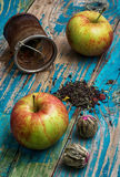 Cup of apple tea Royalty Free Stock Photography