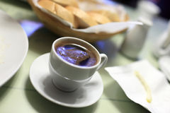 Cup of arabic coffee Stock Photography