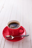 Cup of aromatic coffee Stock Image