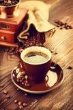 Cup aromatischer Kaffee Lizenzfreie Stockbilder