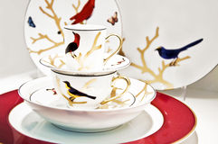 Cup arrangement. Close-up to an cup arrangement Royalty Free Stock Image