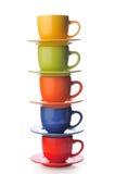 Cup auf einem weißen Hintergrund Lizenzfreies Stockfoto