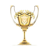 Cup award icon gold  Stock Image
