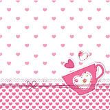 Cup background Stock Photo