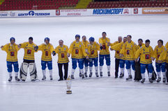 Cup of bandy Stock Images
