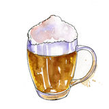 Cup of beer Stock Photos