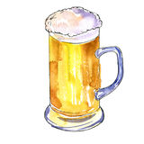 Cup of beer Stock Images
