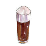 Cup of beer Stock Photo