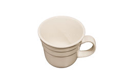 Cup. For beverages o white background Stock Photography