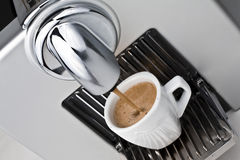 Cup of black coffe Royalty Free Stock Image