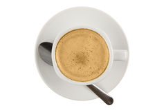 Cup of black coffe Royalty Free Stock Photos